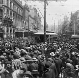 1902 First Tram up Queen St