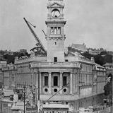 1911 Town Hall near Completion