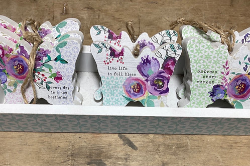 Inspirational Butterfly Ornament - Assorted