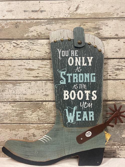 Cowboy Boot Wall Decor