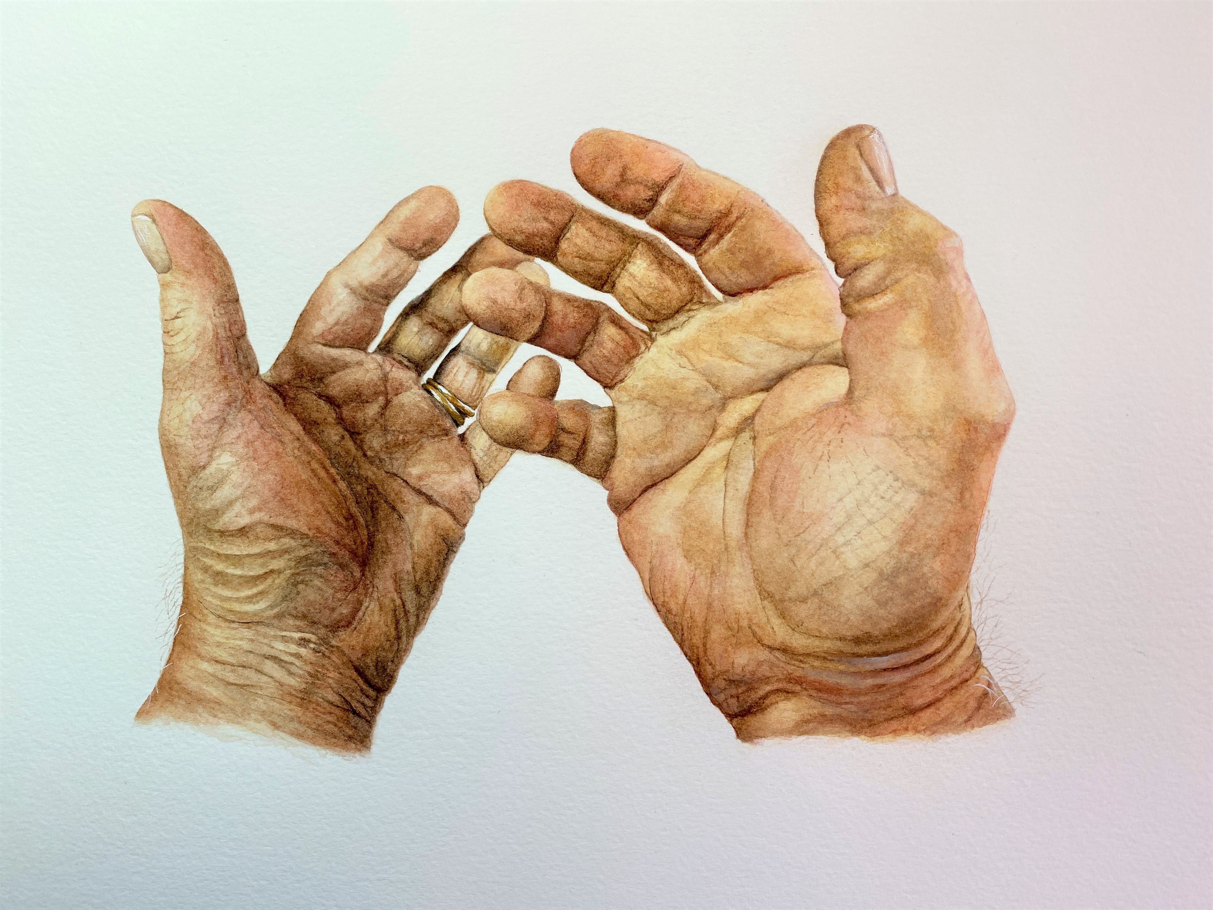 With These Hands.......
