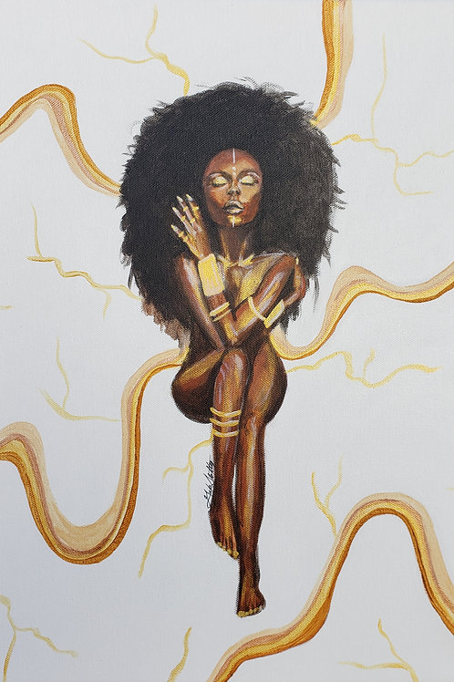 Golden Goddess - Fine Art Print