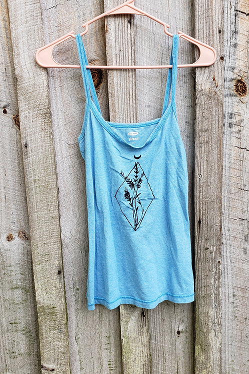 Upcycled Painted Tank (S)