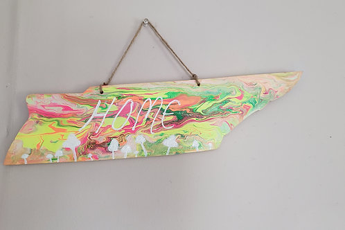 Trippy Tennessee Wall Hanging