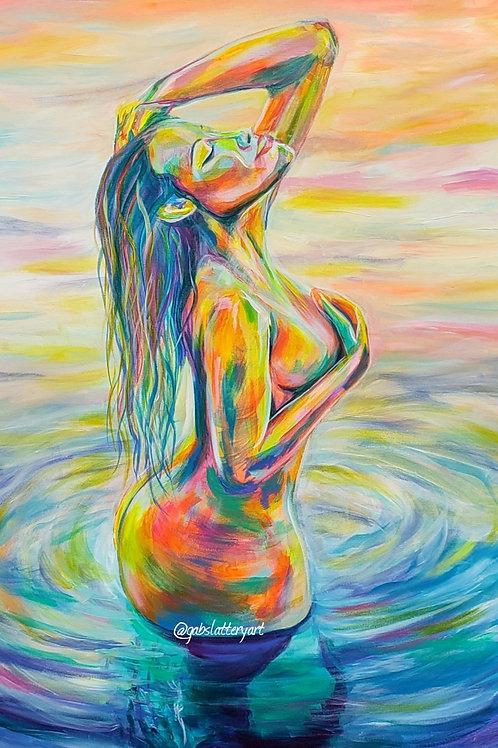 Serenity - Fine Art Print - Divine Feminine