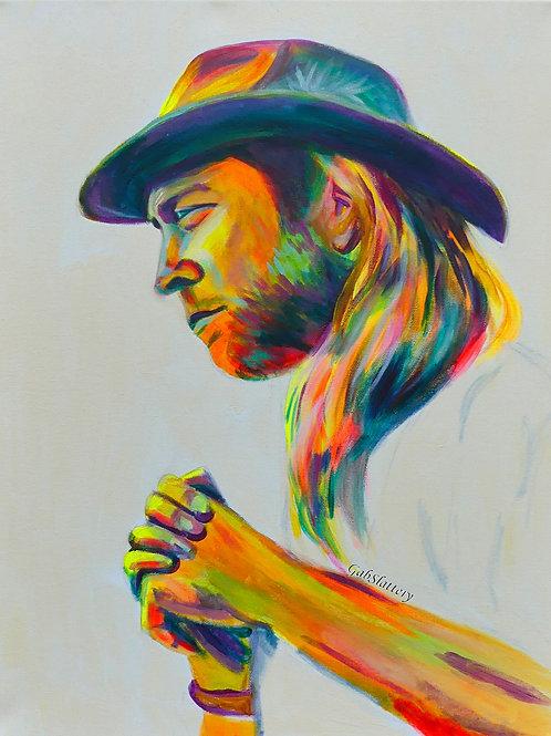 Trevor Hall - Fine Art Print
