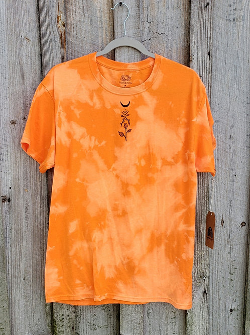 Upcycled Bleach & Hand Drawn Design - Size Unisex M