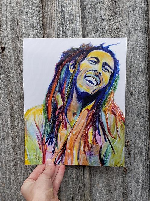 Bob Marley - Fine Art Print