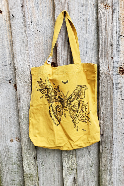Moth canvas bag