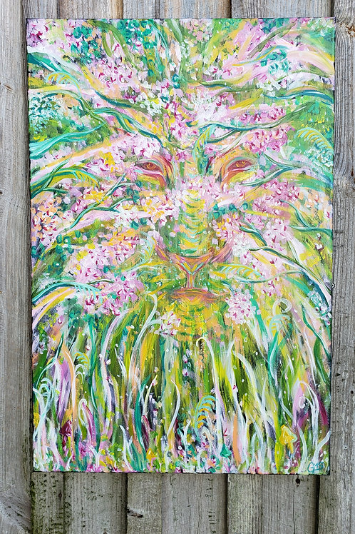 Forest Spirit - Original 2ft x 3ft