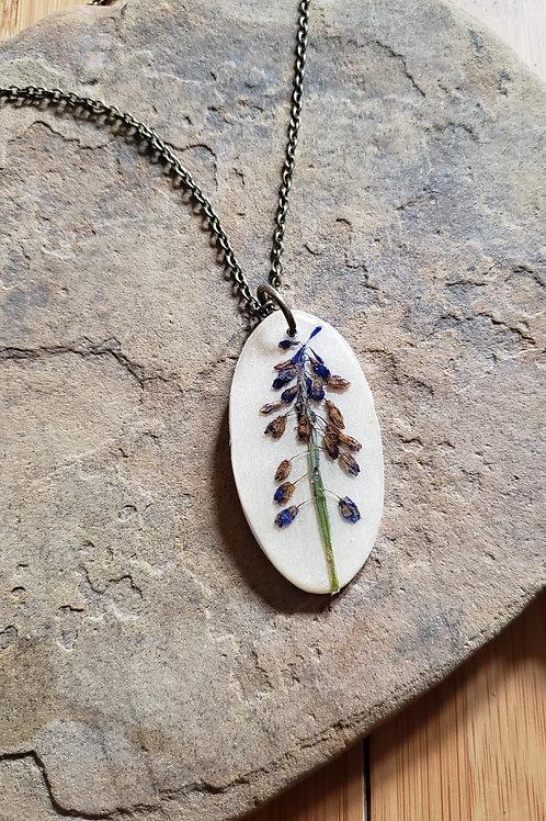 Grape Hyacinth Necklace