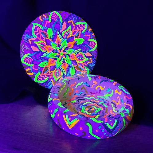 Black Light Reactive, Mandala stash box