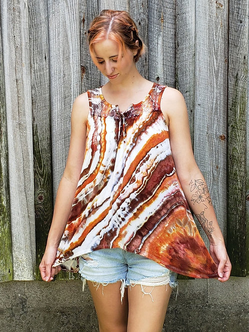 Earthy Geode Top - (upcycled S)