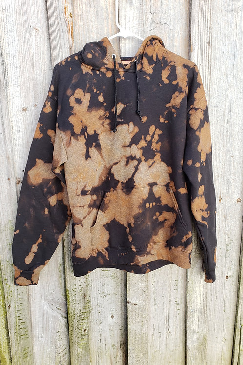 Medium Bleach Dye Hoodie - extra soft inside!