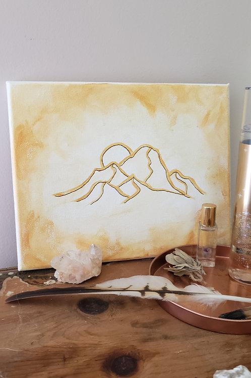 Golden Range - 8x10 small original