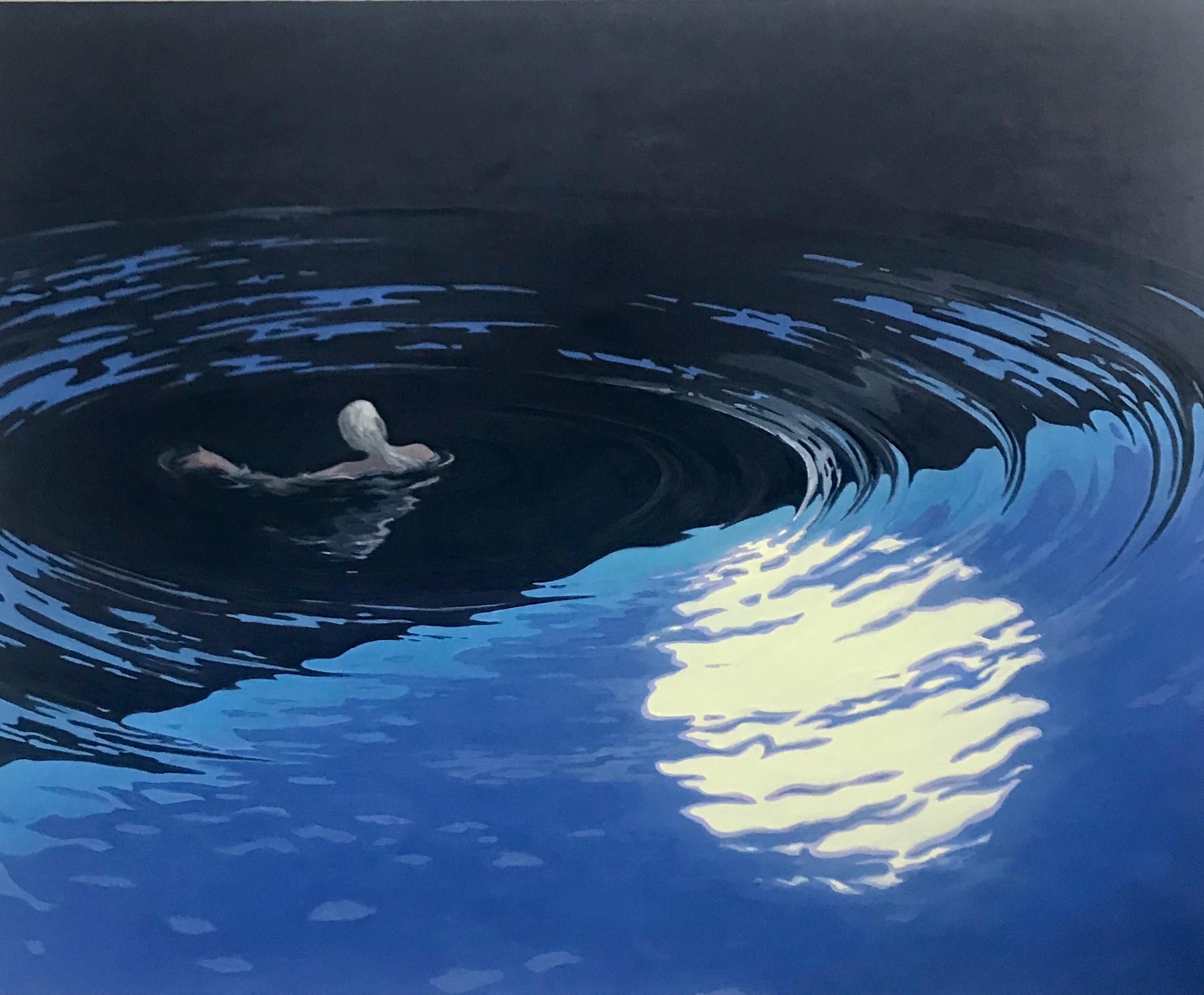 """Floating,_2020,_oil_on_linen,_37_x_46"""""""