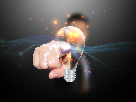 lightbulb, idea, jam lighting