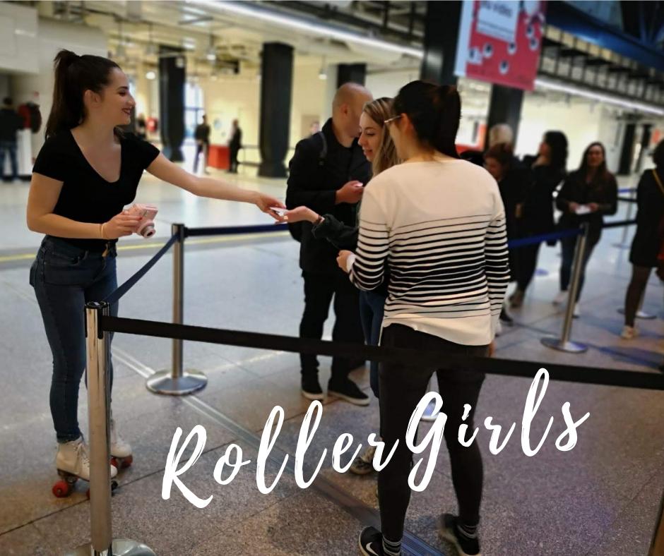 Cité des Sciences et de l'industrie - Roller Girls