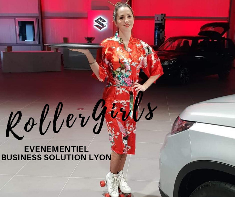 Événementiel business solution Lyon - Roller Girl