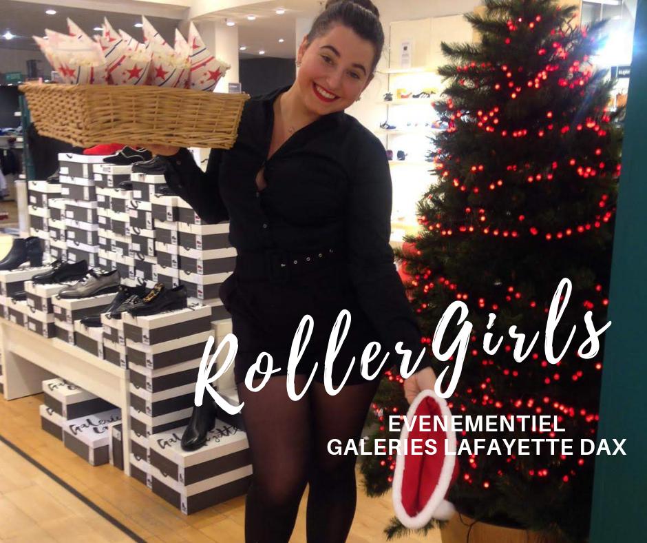 Galeries Lafayette Dax - Roller Girl Hôtesses