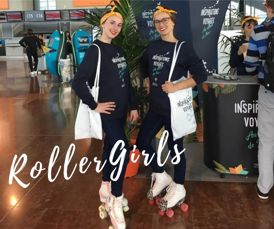 aéroport de nice - roller girls