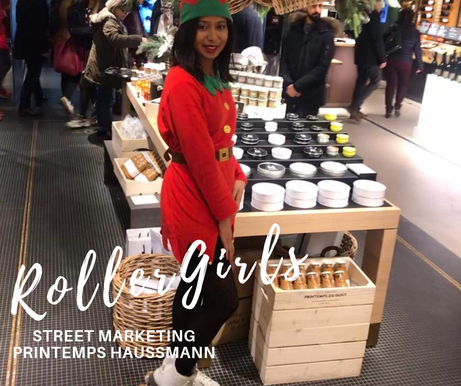 Printemps Haussmann - Roller Girl Hôtesses
