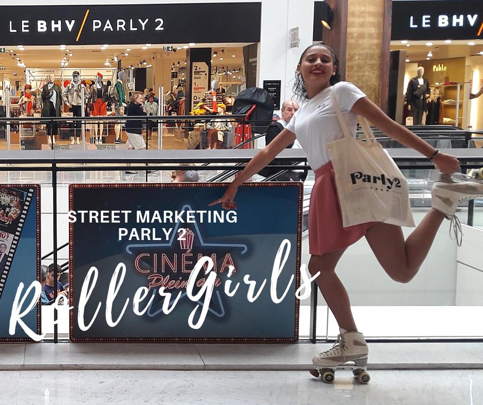 Parly 2 - Roller Girl Hôtesses