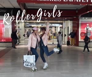 Galeries Lafayette montparnasse - Roller Girls