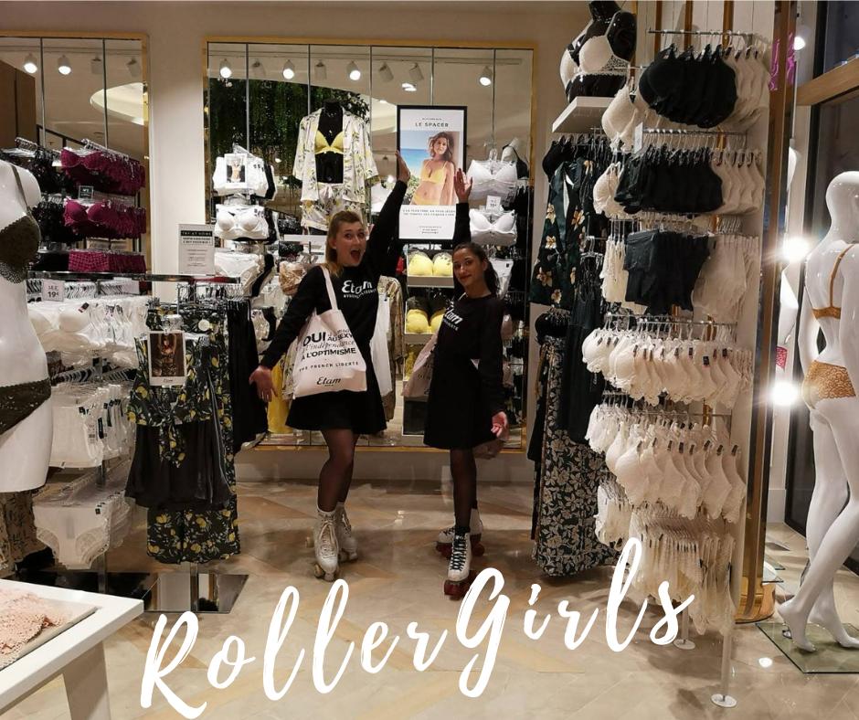 Etam Centre Commercial Beaugrenelle - Roller Girls