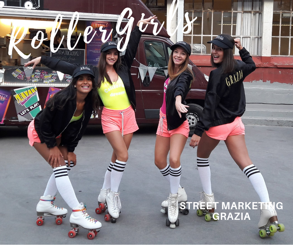 Roller Girls Hôtesses - Grazia