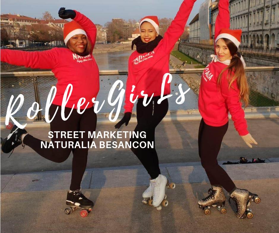 Naturalia Besancon - Roller Girl Hôtesses