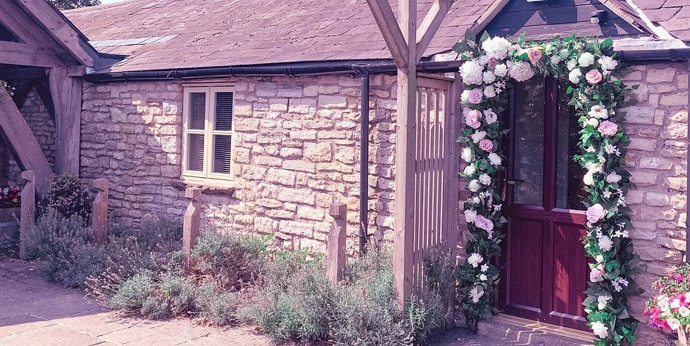 Abigail Grace studio showroom with flowers