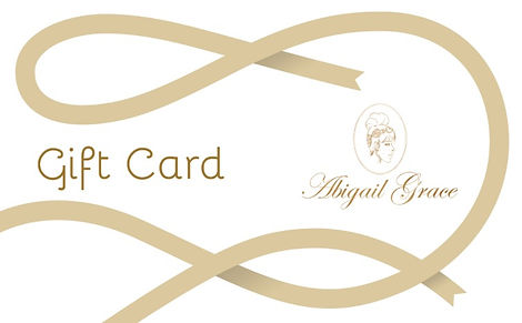 Abigail Grace Gift Card with logo head