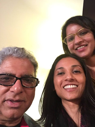 My Selfie with Dr. Deepak Chopra