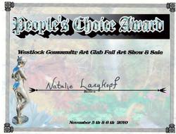 People's Choice Award Fall 2010.jpg