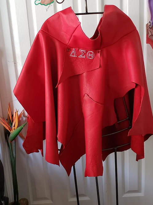 Specialty Poncho - Red
