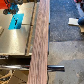 Rosewood for End Graft, Headplate and Binding