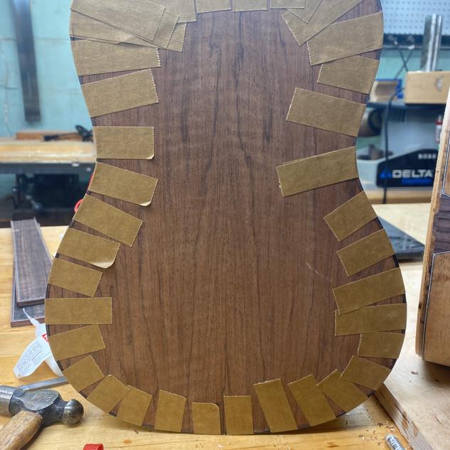 Back Binding Glued In