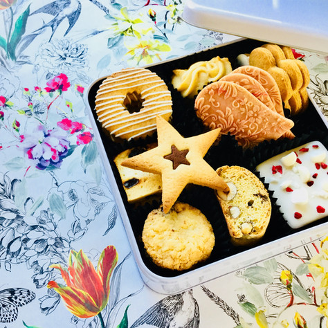 A very bespoke biscuit order and packaging solution for this corporate client ...