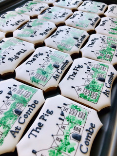 Wedding venue in biscuit form - how cute