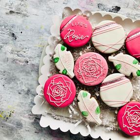 Rose themed for Rosie ...