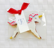 Pretty unicorn iced biscuit favour for Aoife