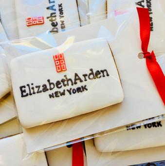 Elizabeth Arden hand iced logo