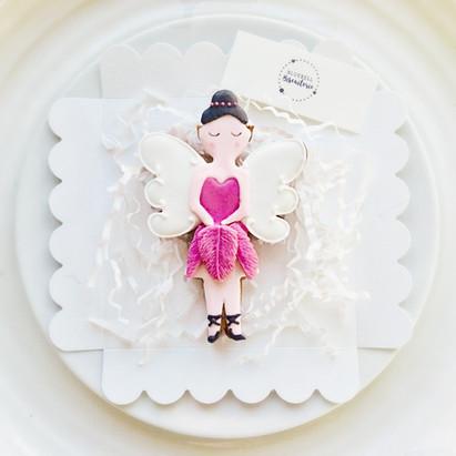 Sugarplum fairy iced biscuits