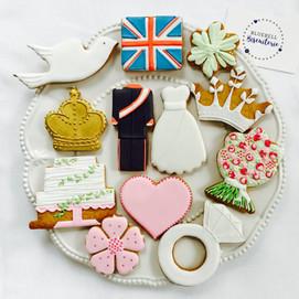 Ice biscuits for a Royal Wedding Par-tea