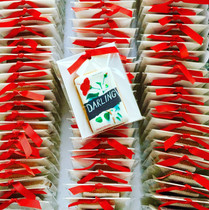 Book cover biscuit favours for book launch - printed icing