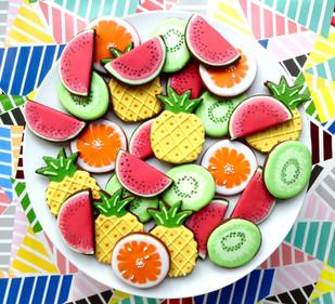 Our tropic fruit salds ...