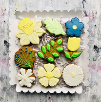 Beautiful Spring flower biscuits