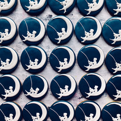 Hand iced biscuits for DreamWorks