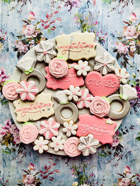 How about bespoke biscuits for an engagement party?